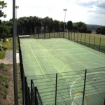 Multi Use Games Area Maintenance in Aberangell 2