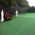Multi Use Games Area Painting in Bryncroes 2