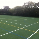 Multi Use Games Area Painting in Abersoch 11