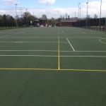 Repairing Sports Surfaces in Abergarw 2