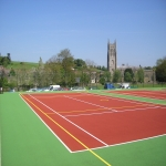 Repairing Sports Surfaces in Arclid 6