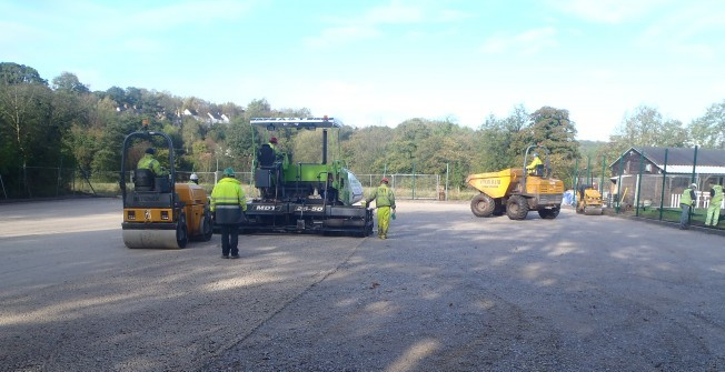 MUGA Court Builders in Abberton