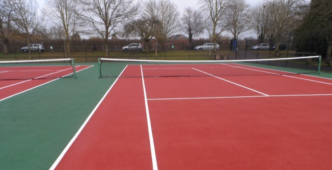 MUGA Surfacing Types in Abbey Hey