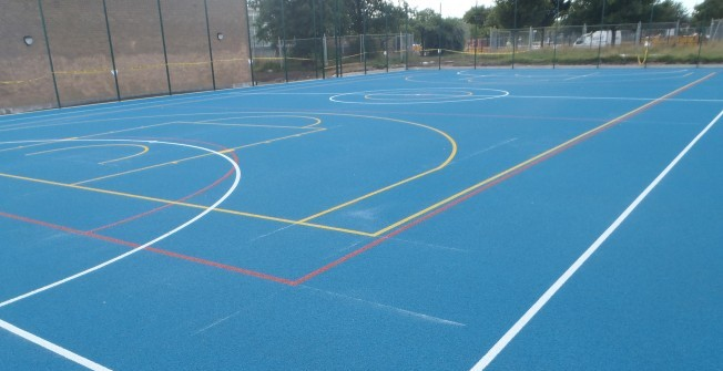 Multi Use Sport Surfaces in Ancton