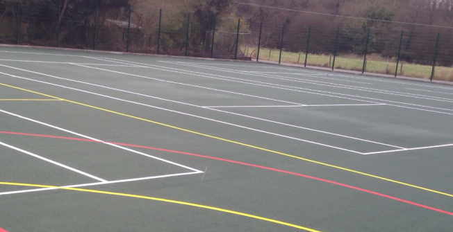 MUGA Pitch Specialists in West Midlands