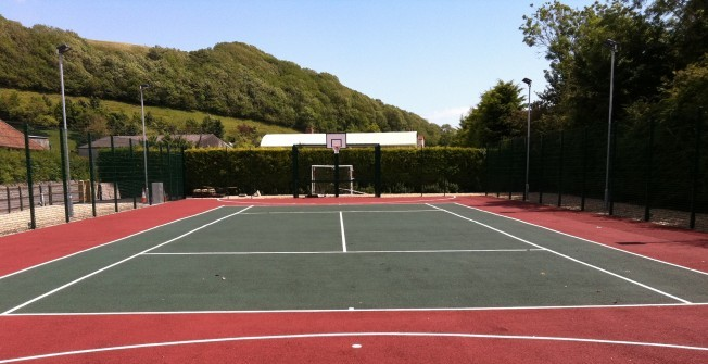 MUGA Court Specifications in St Harmon